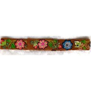 70's Peruvian Embroidered Belt